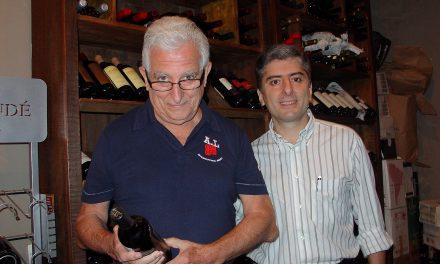 Eu e os vinhos
