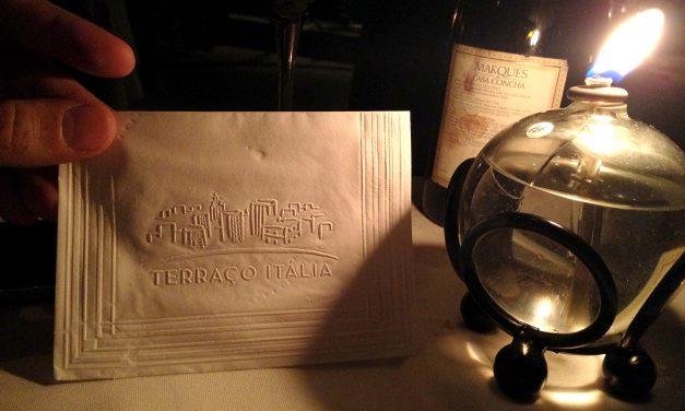 Terraço Itália e Marques de Casa Concha<br>Uma experiência inesquecível