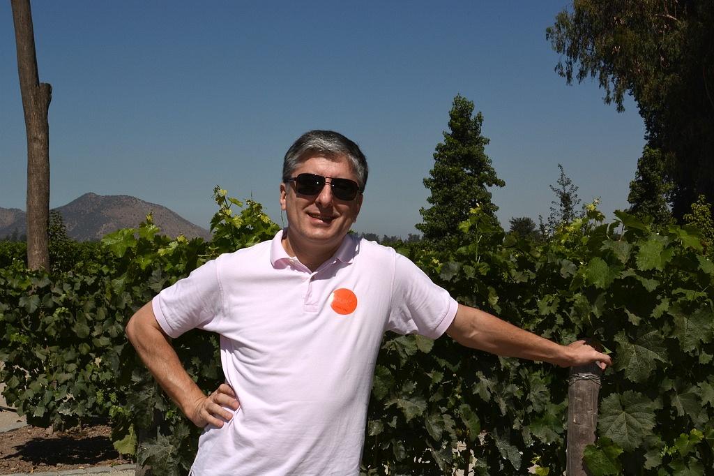Jardim de Variedades, onde podemos observar como é uma produção de uvas