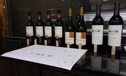 Degustação de vinhos Mondavi na SBAV
