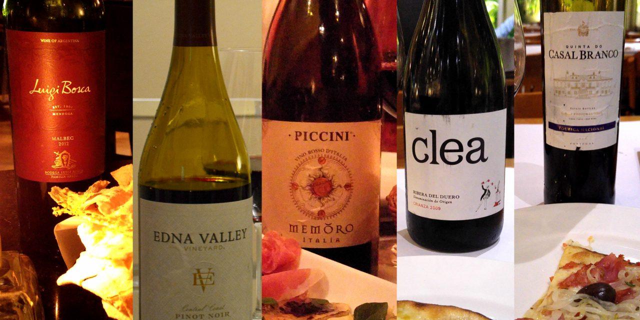5 vinhos para acompanhar a pizza