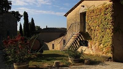 Vila na Toscana, Itália