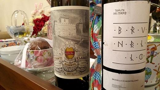 Chianti e Brunello da Toscana