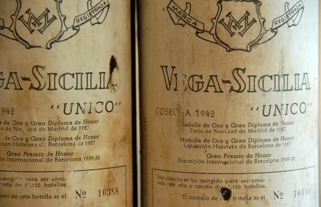 Vega-Sicilia Unico
