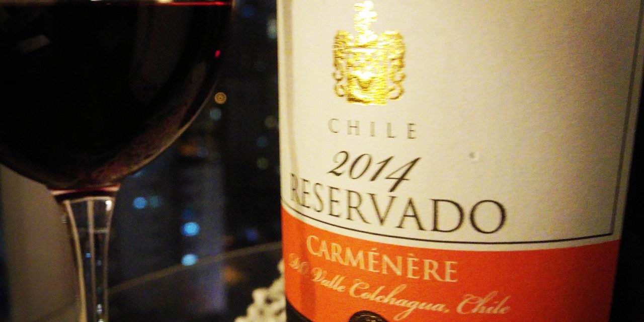Errázuriz Reservado Carménère 2014: Review