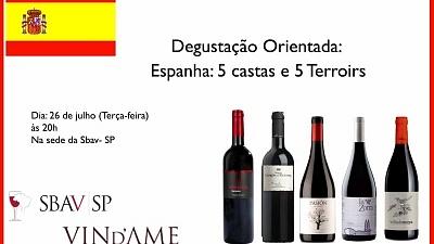 Evento vinhos espanhóis SBAV