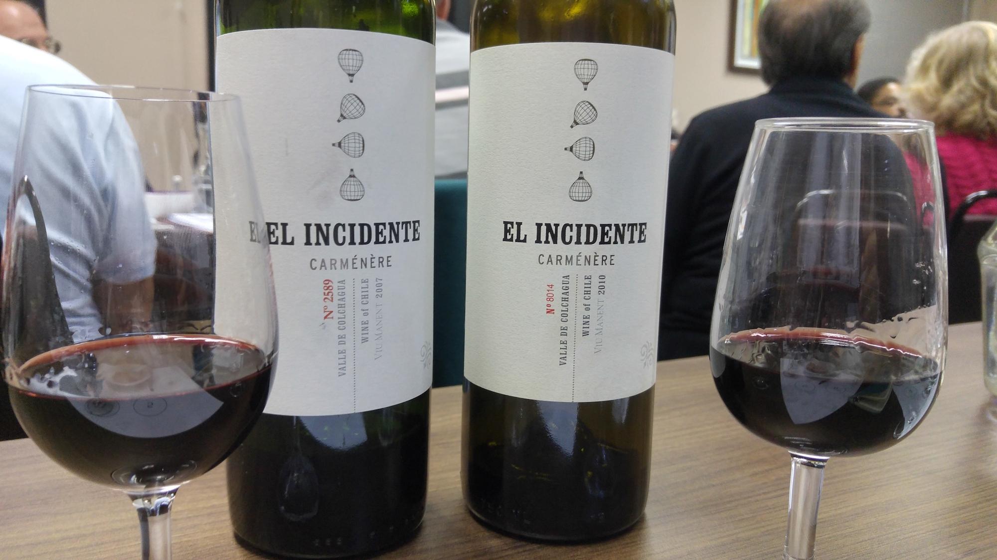 El Incident Carménère - Degustação SBAV/SP Viva o Vinho