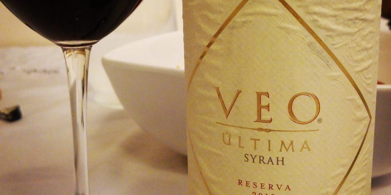Veo Última Syrah Reserva 2012: Review