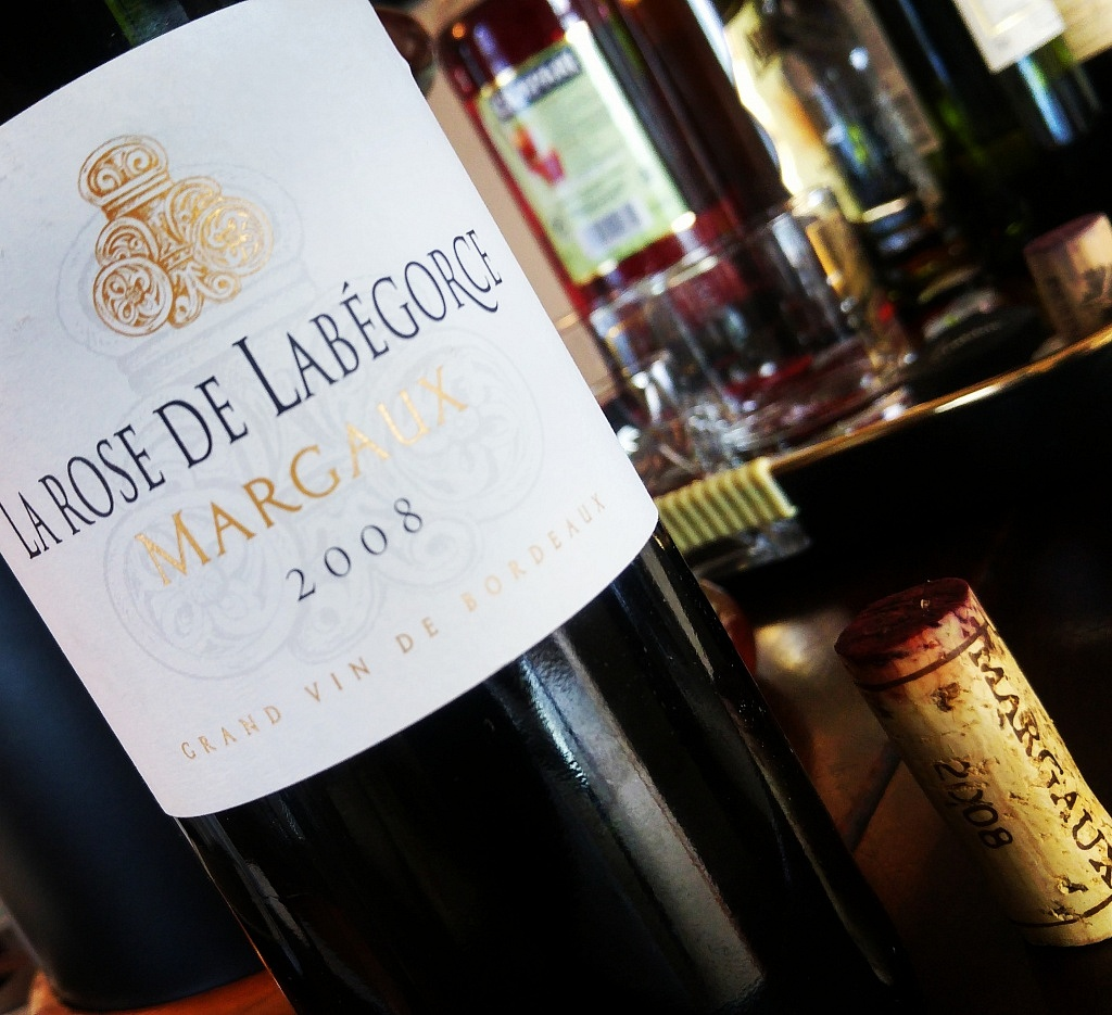 La Rose de Labérgoce Margaux 2008 - Confraria Viva o Vinho