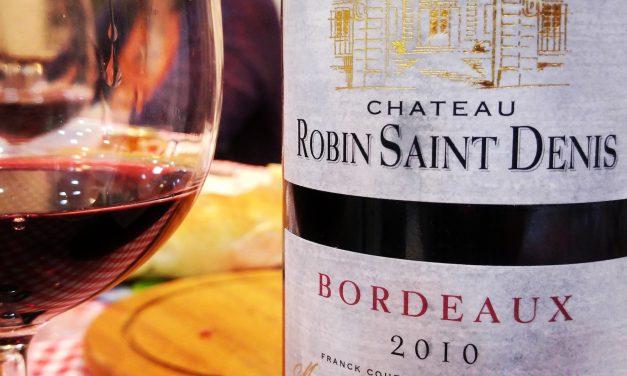 Château Robin Saint Denis 2010: Review