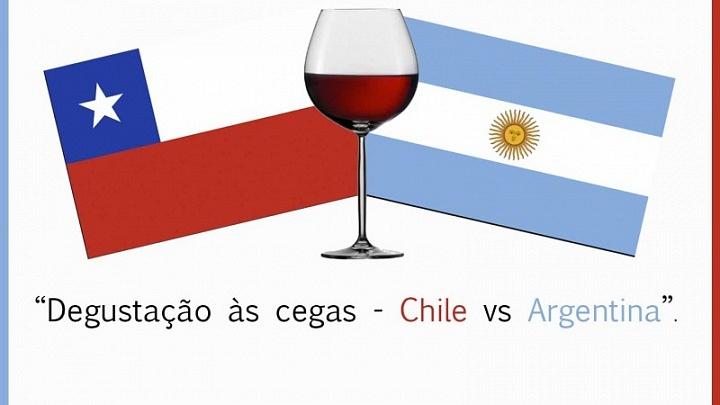 Degustação as cegas: Chile X Argentina