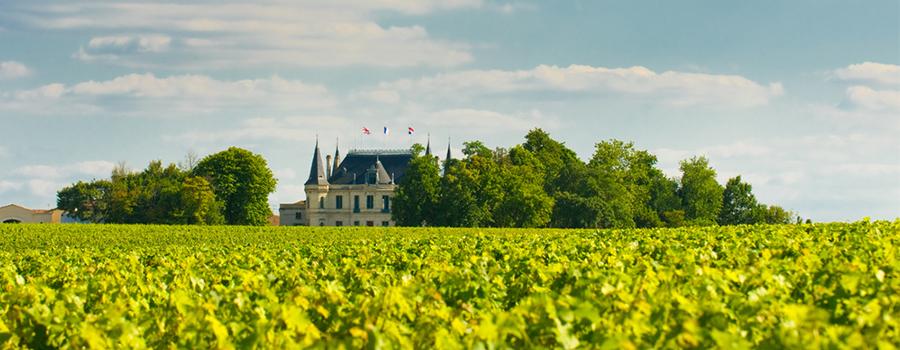 Château em Bordeaux, França
