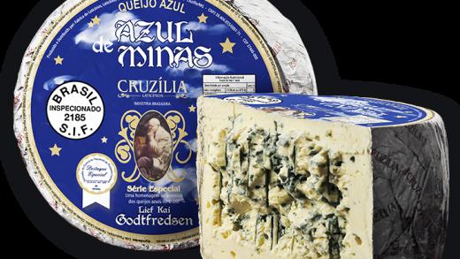 Queijos Cruzília - Azul de MInas - Viva o Vinho