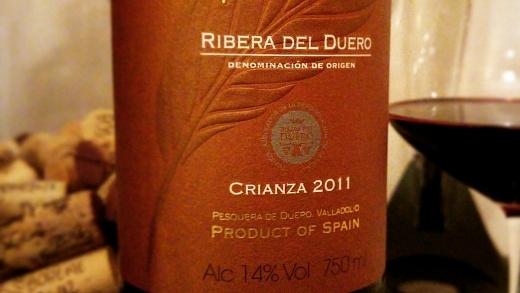 Marques de Pluma Crianza 2011 - Viva o Vinho