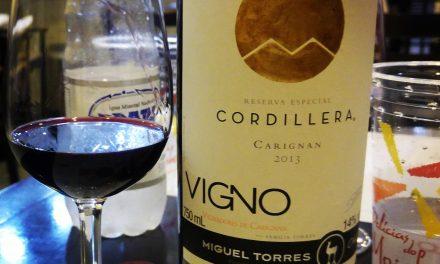 Cordillera Carignan Vigno 2013: Review