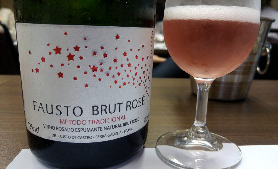SBAV - Workshop Carlos Cabral - Fausto Brut Rosé Pizzato - Viva o Vinho