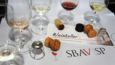Weinkeller na SBAV - Viva o Vinho