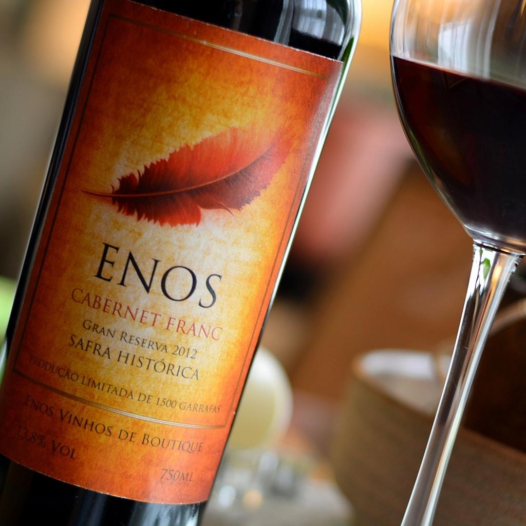 Enos Gran Reserva Cabernet Franc 2012 - Viva o Vinho