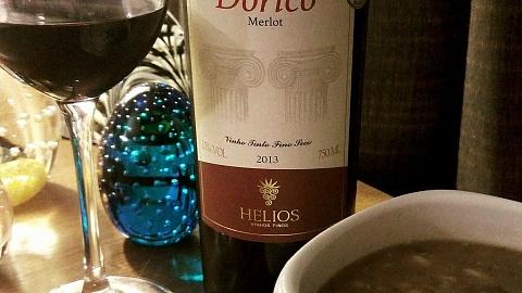 Dórico Merlot 2013 - Helios - Viva o Vinho