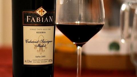 Fabian Reserva Cabernet Sauvignon/Merlot 2005 - Viva o Vinho