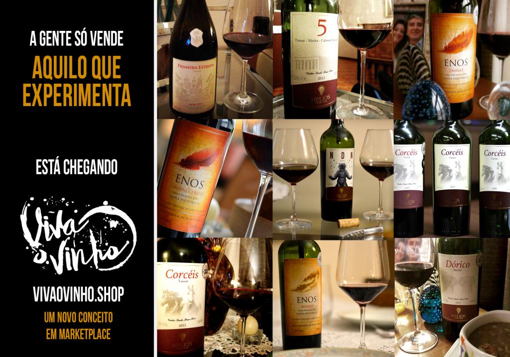 Lançamento VivaoVinho.Shop - Viva o Vinho