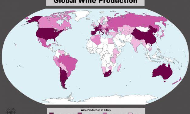 Quem são os maiores produtores de vinho de 2016?