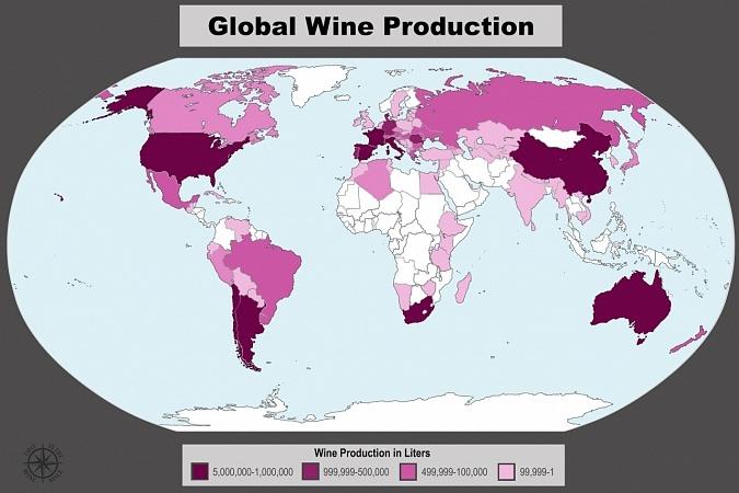 Produção Global de Vinhos