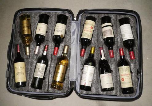 Vinho no avião - Viva o Vinho