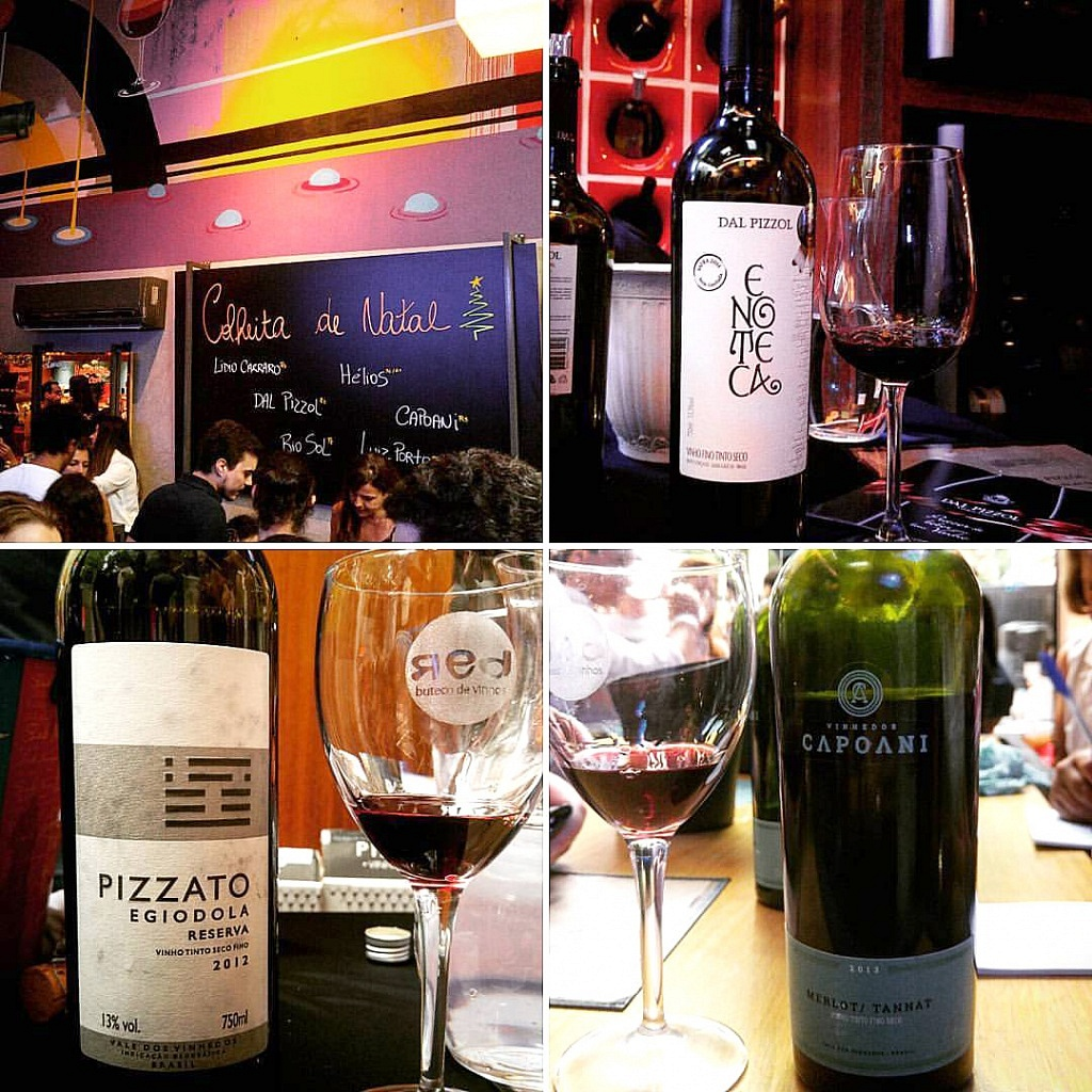 Evento de Vinhos Brasileiros no Red Buteco, Viva o Vinho