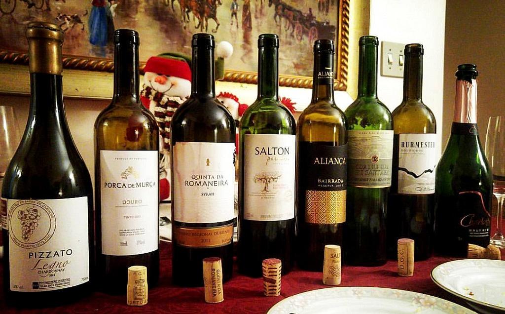 Vinhos do Evento Portugueses e Brasileiros, Confraria Viva o Vinho, dezembro/2016