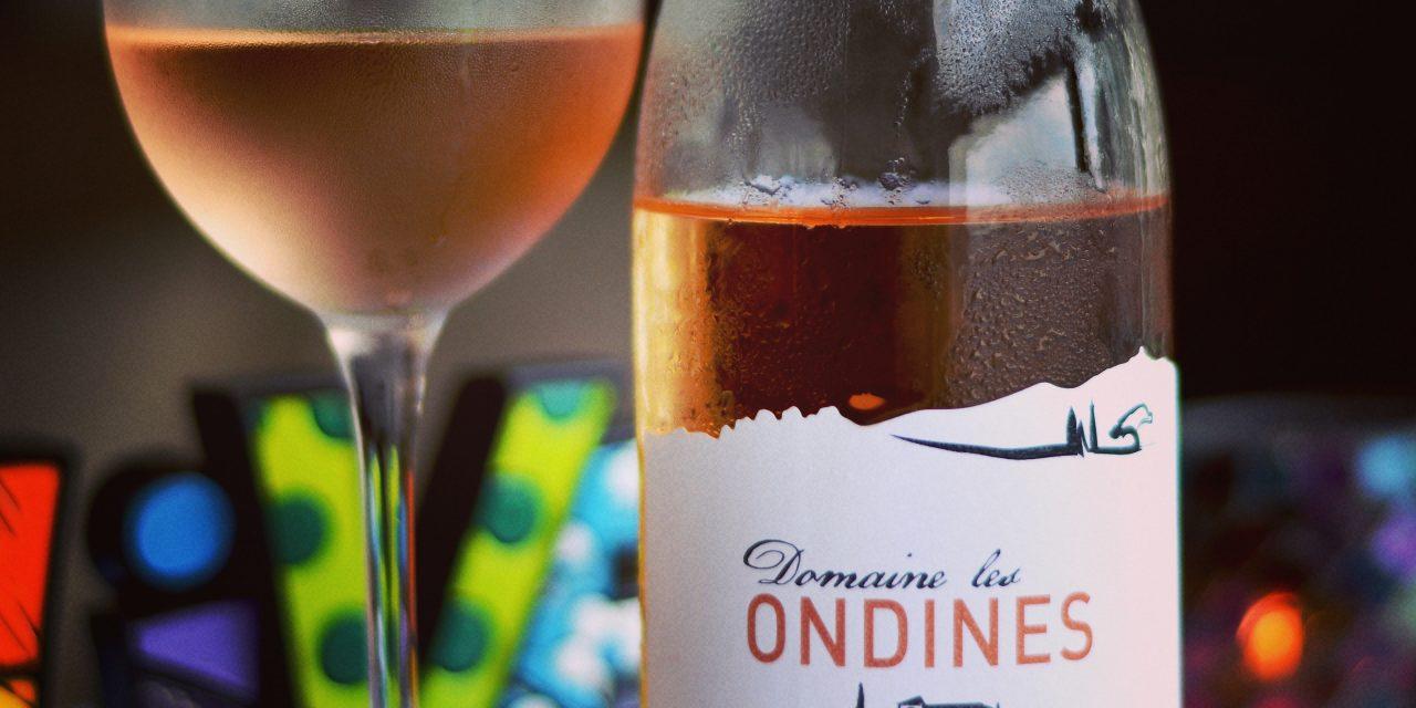 Rosé Ondines Vaucluse IGP Cotes du Rhone 2015