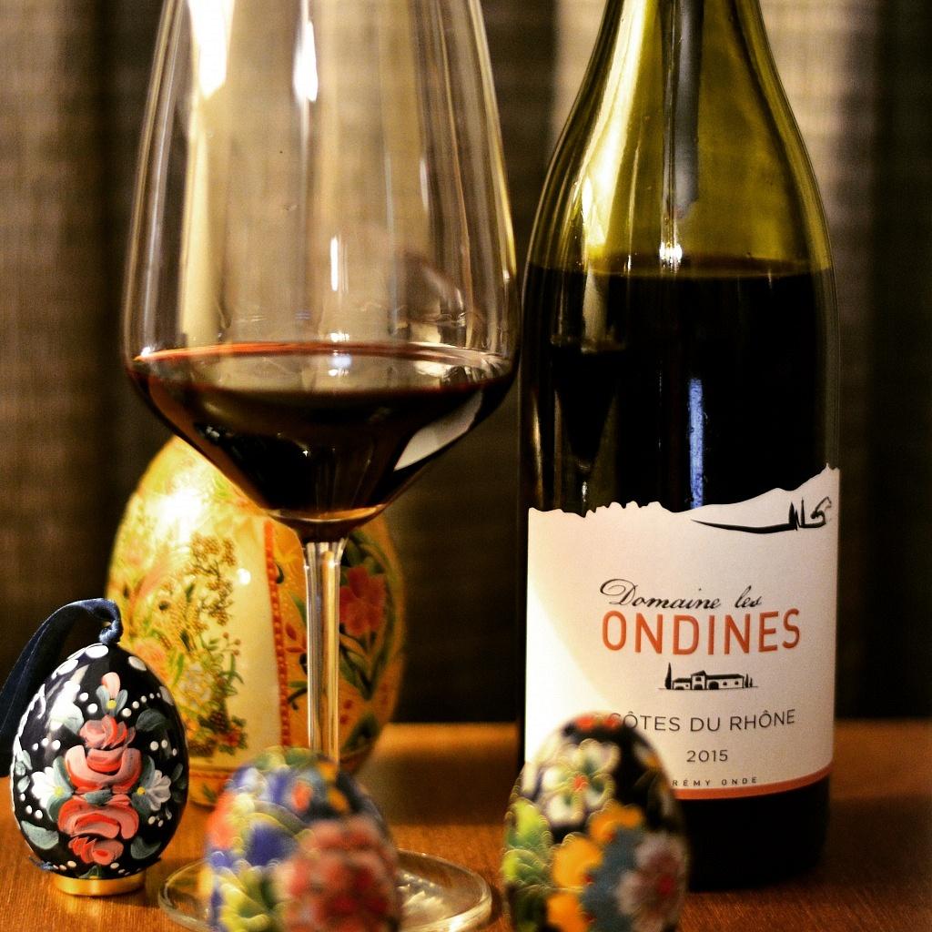 Domaine les Ondines Côtes du Rhône 2015 - Viva o Vinho