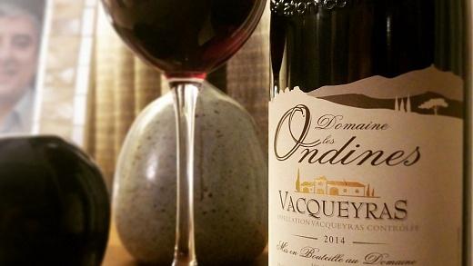 Domaine les Ondines Vacqueyras 2014 - Viva o Vinho