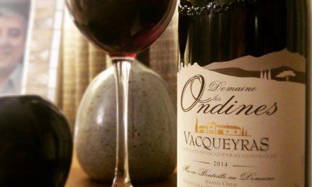 Domaine les Ondines Vacqueyras 2014: Review
