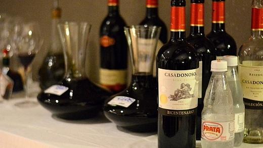Wine Dinner Casa Donoso, Viva o Vinho