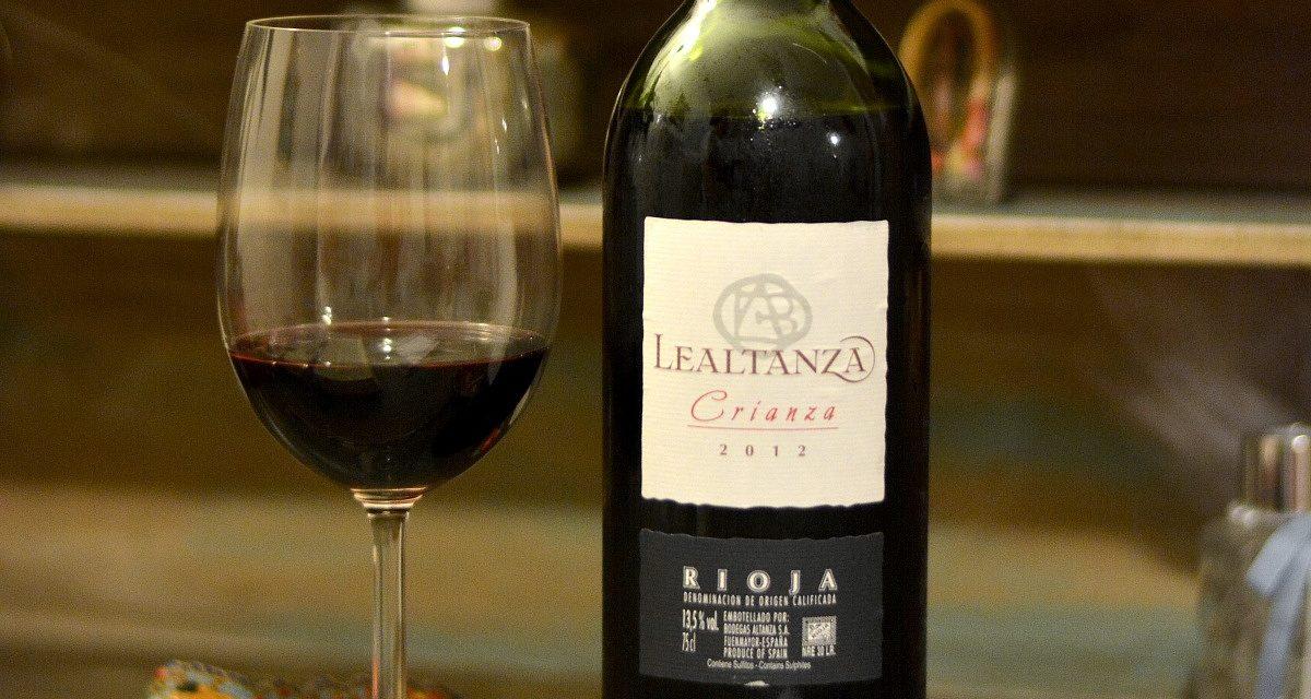 Lealtanza Crianza 2012: Review