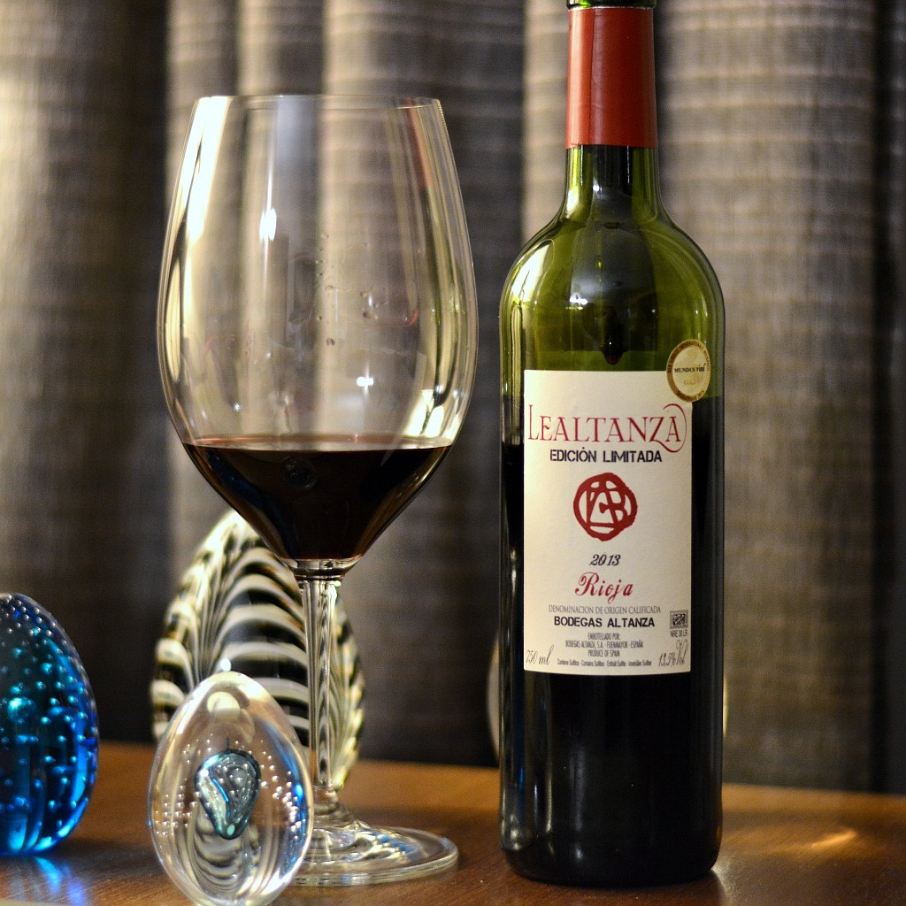 Lealtanza Edición Limitada Tempranillo DOC Rioja 2013 - VivaoVInho.Shop