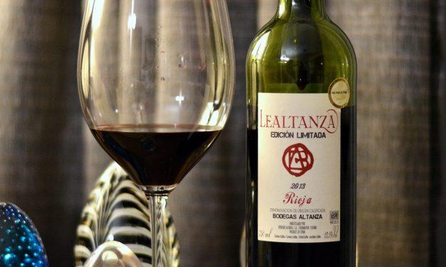 Lealtanza Edición Limitada Tempranillo DOC Rioja 2013