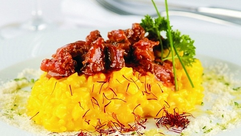 Risoto com ragu de ossobuco, Wine Dinner Terraço Itália – World Wine - abril/2017