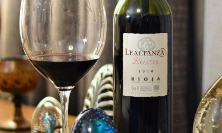Lealtanza Reserva Tempranillo DOC Rioja 2010: Review
