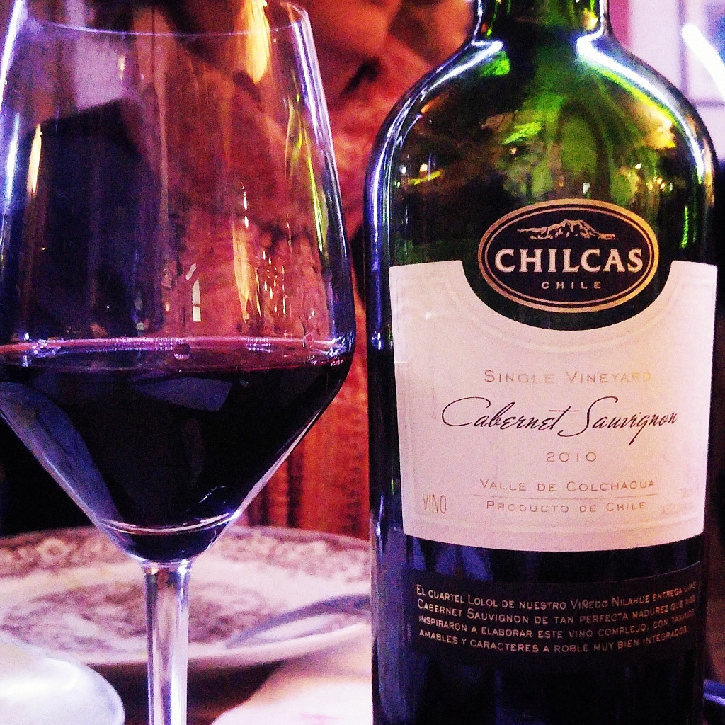 Chilcas Single Vineyard Cabernet Sauvignon 2011