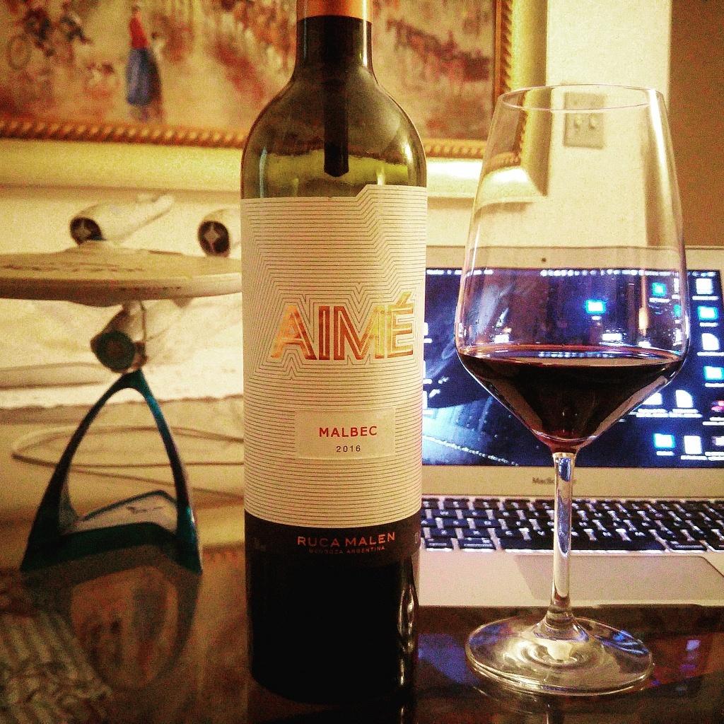 Aimé Malbec 2016 - Viva o Vinho