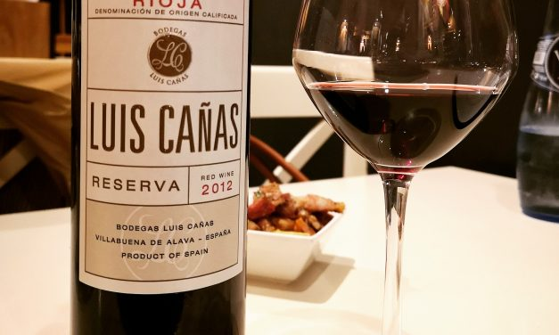 Luis Cañas Reserva 2012: Review