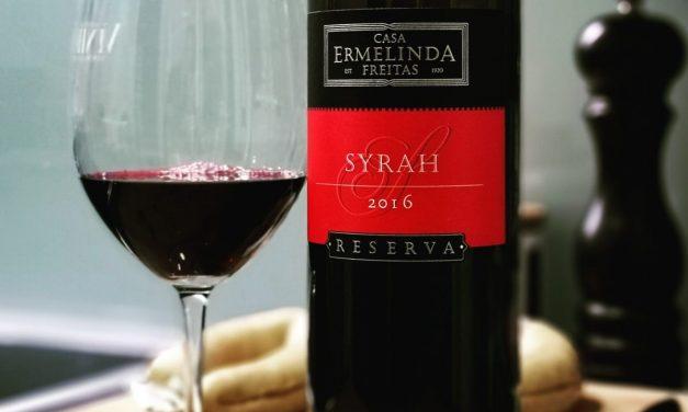 Casa Ermelinda Freitas Reserva Syrah 2016: Review
