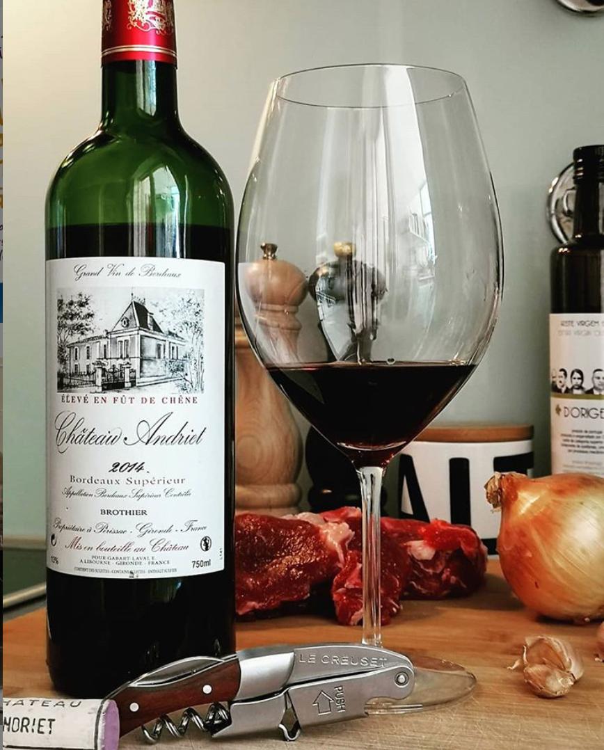 Château Andriet 2014 Bordeaux Supérieur - Viva o Vinho