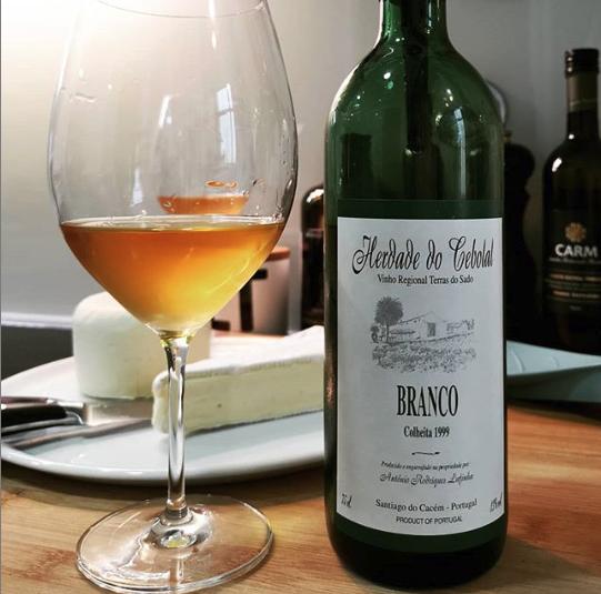 Herdade do Cebolal Branco 1999 - Viva o Vinho